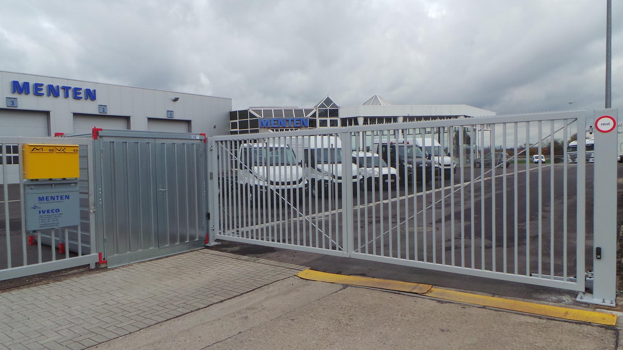 industrieel poort