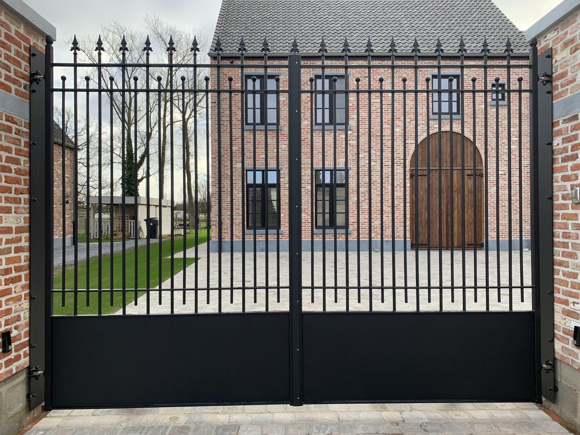 rustieke poort