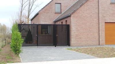 moderne poort