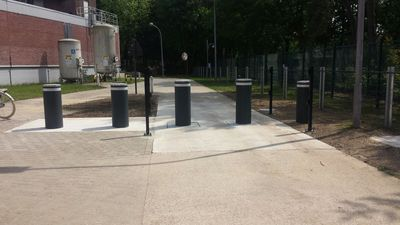 Faac J355 M30 Anti--terreur bollards